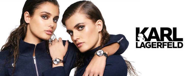 banner Karl Lagerfeld watches