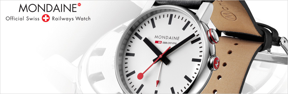 Mondaine Clocks Buy Now At Masters In Time