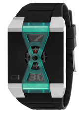 01 The One X-Watch-Black-&amp;-Green AN09G04 -  