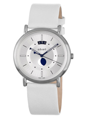38mm Swiss Design Watch with Moonphase