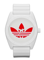 Adidas Santiago-Nylon-White-Red ADH2820 -