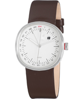 Alessi Piero-Lissoni-Dark-Brown-Leather-Strap AL5011BR -
