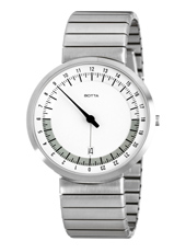 Botta Design Uno-24-Hr-Steel-White 221011 - 2012 Spring Summer Collection