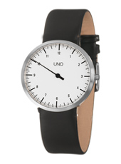 Uno Medium 35mm White One Hand Watch