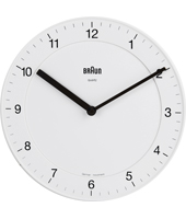 Braun Wall-Clock-Quartz BNC006WHWH -