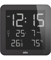 Braun Wall-Clock BNC014BK-RC -
