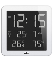 Braun Wall-Clock BNC014WH-RC -