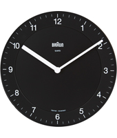 Braun Wall-Clock-Quartz BNC006BKBK -