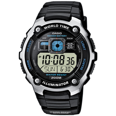 Casio AE-2000W-1AVEF AE-2000W-1AVEF - 2010 Spring Summer Collection
