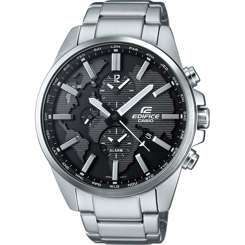 Casio edifice etd 300d 1avuef edifice classic watch 3d world map enlarge gumiabroncs Gallery