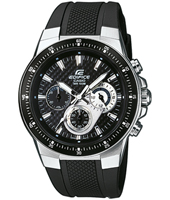 43.80mm Black Chronograph with Carbon Details