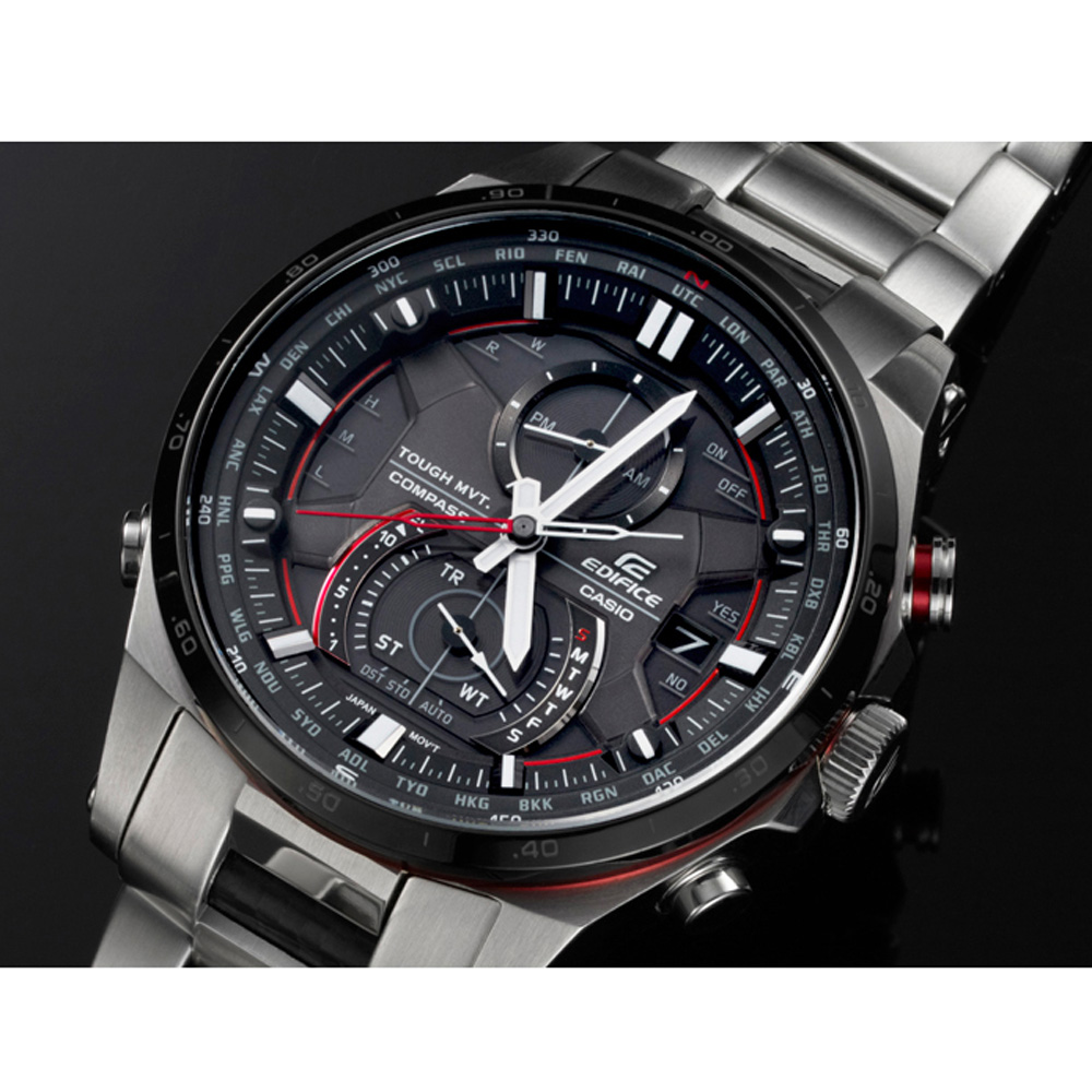Casio Edifice Eqw-a1200db-1aer Racing Watch