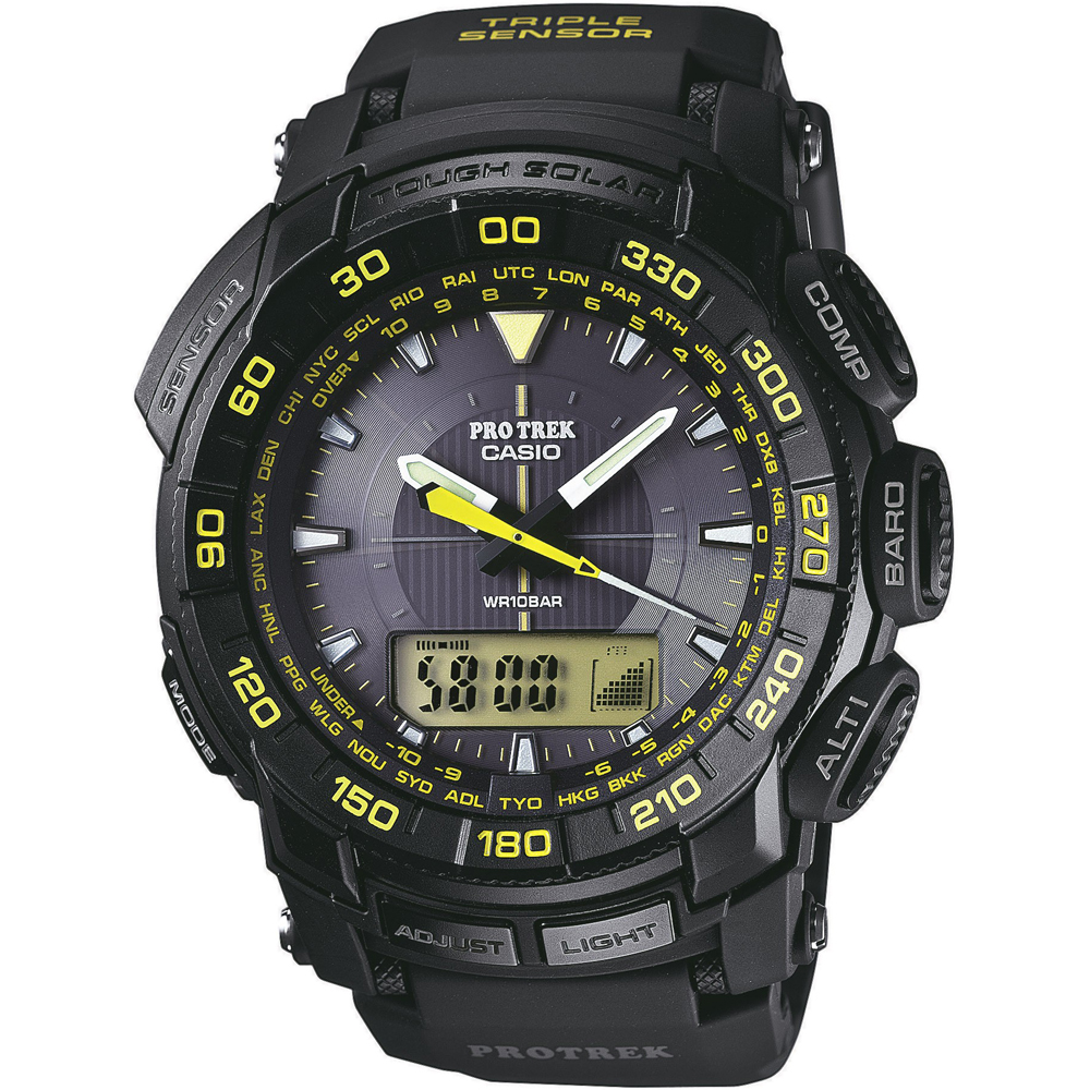 how to change the time on a casio la670w watch