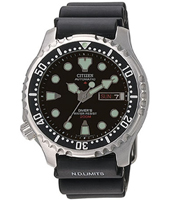 Promaster Sea 42mm Automatic Black 20 ATM Day/Date Diver with Rubber Strap