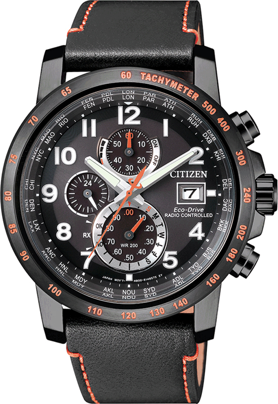 Citizen AT8125-05E watch - Radio Controlled Eco-Drive