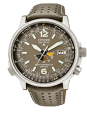 Citizen Pilot-Steel-Radio-Controlled AS2020-11H -