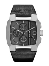 Diesel Bad-Company-Chrono-Black-Leather DZ4275 - 2012 Fall Winter Collection