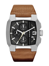 Diesel Bad-Company-Chrono-Brown-Leather DZ4276 - 2012 Fall Winter Collection