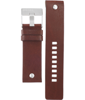 Diesel DZ1225-Brown-Leather-Strap ADZ1225 -