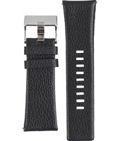 Diesel DZ1230-Black-Leather-Black-Strap ADZ1230 -