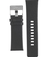 Diesel DZ1294-Black-Leather-Strap ADZ1294 -