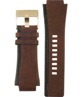 Diesel DZ4081-Brown-Leather-Strap ADZ4081 -
