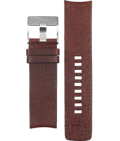 Diesel DZ4104-Brown-Leather-Strap ADZ4104 -
