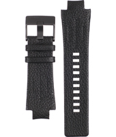Diesel DZ4129-Black-Leather-Strap ADZ4129 -