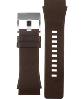 Diesel DZ4167-Brown-Rubber-Strap ADZ4167 -