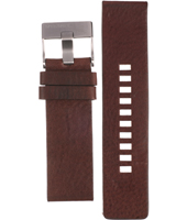 Diesel Bad-Company-Brown-Leather-Strap ADZ4238 -