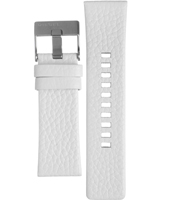 Diesel Franchise-White-Leather-Strap ADZ4240 -