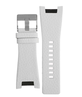 Diesel Megatron-White-Leather-Strap ADZ4247 -