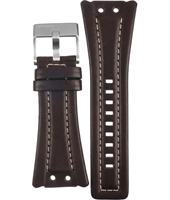 Diesel DZ7051-Dark-Brown-Leather-Strap ADZ7051 -