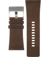 Diesel DZ7071-Brown-Leather-Strap ADZ7071 -