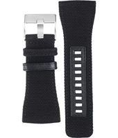 Diesel DZ7223-Black-Canvas-Strap ADZ7223 -