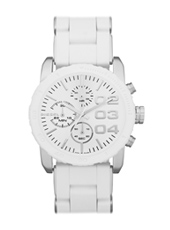 Diesel Franchise--42-Chrono-White DZ5306 -