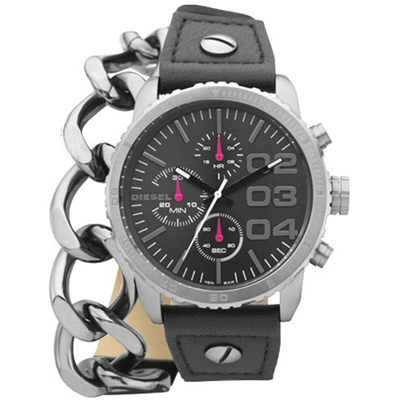 Diesel Franchise--42-Gunmetal-Chain DZ5309 - 2012 Spring Summer Collection