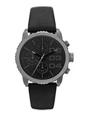 Diesel Franchise--42-Chrono-Black DZ5329 -