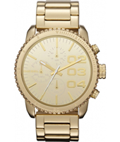 Diesel Franchise--42-Chrono-All-Gold DZ5338 -