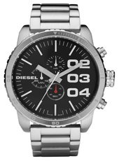 Diesel Franchise--51-Chrono-Black-&-Steel DZ4209 -