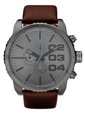 Diesel Franchise--51-Chrono-Brown-&-Grey DZ4210 - 2011 Spring Summer Collection