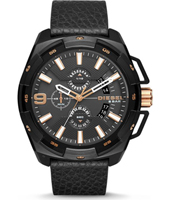 Diesel Franchise--51-Chrono-White-&-Steel DZ4219 -