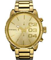 Diesel Franchise--51-Chrono-Gold DZ4268 -