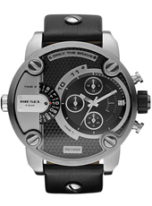Little Daddy 51mm Black XL Dual Time Chrono