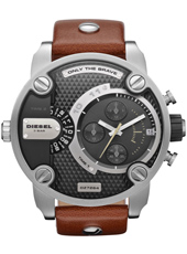 Diesel Little-Daddy-Brown-Leather DZ7264 -