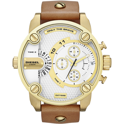 Diesel  Little Daddy Gold watch