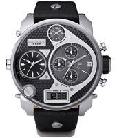 Diesel Mr.-Daddy-Black-&-Steel DZ7125 -