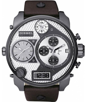 Diesel Mr.-Daddy-Gunmetal-&-Brown DZ7126 -