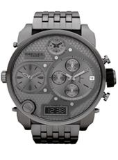 Diesel Mr.-Daddy-Gunmetal-Steel DZ7247 - 2012 Spring Summer Collection