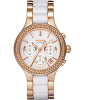 DKNY Broadway-Rose-Gold-Ceramic-Steel-Glitz NY8183 -